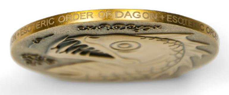 Custom Engraved Coins | Carved with Logos Letters Numbers