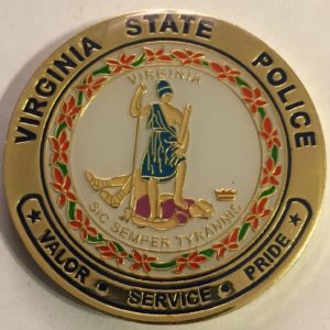 Virgina-patro-state-police-coins