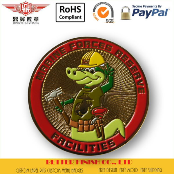 Marine Forces Reserve Coins