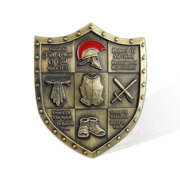 Armor metal Challenge Coin