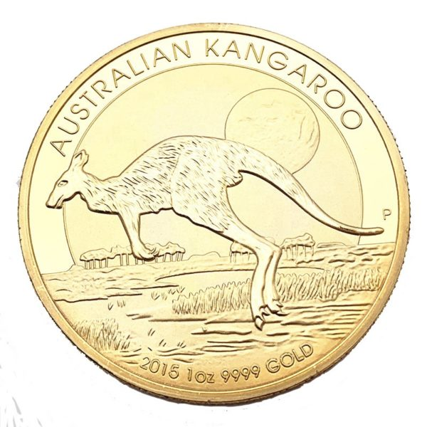 Australian kangaroo commemorative coin