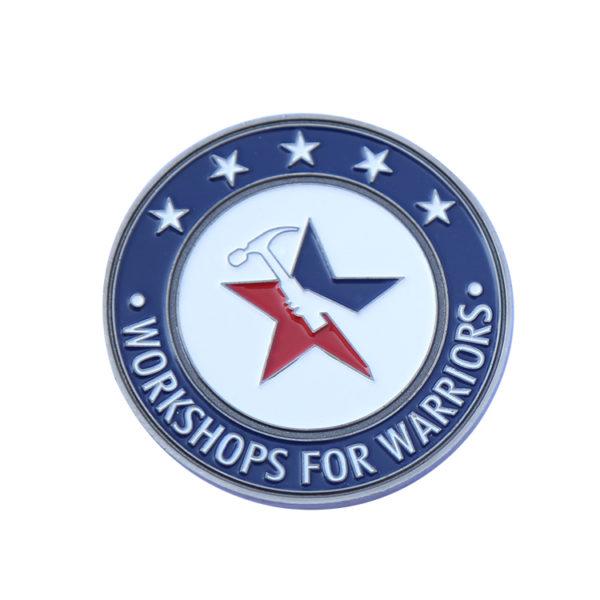 Battlefield warrior coins