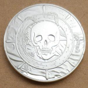 Caribbean Pirate Skull coin