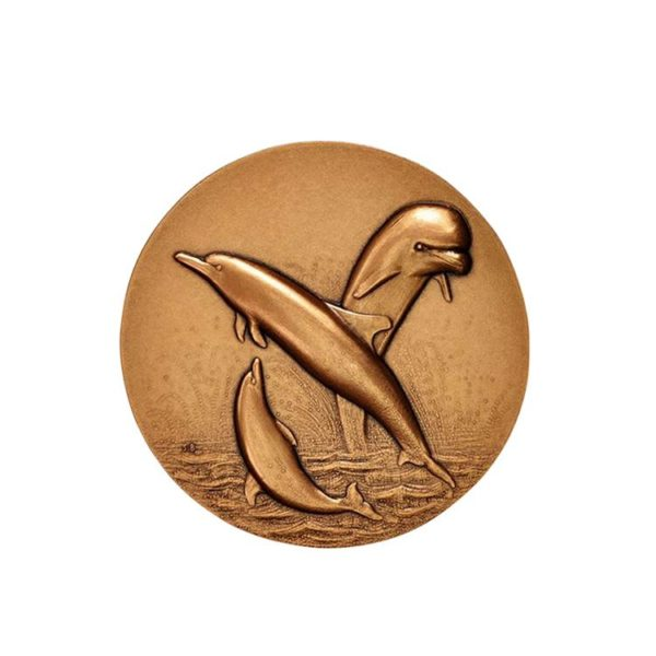 Coins for dolphin protection activities