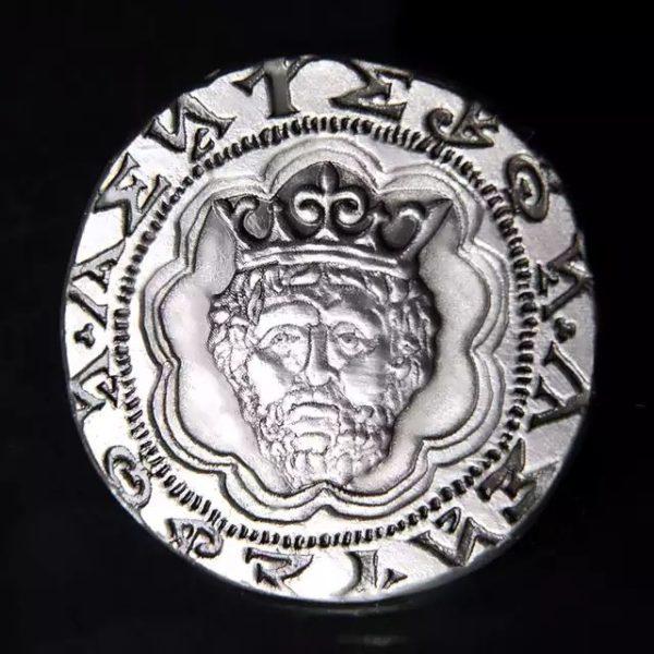 Custom 3D head coin