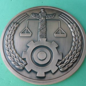 Fair law metal coins