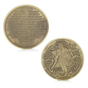 God armour high relief coins