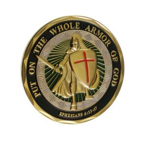 God's armor coin