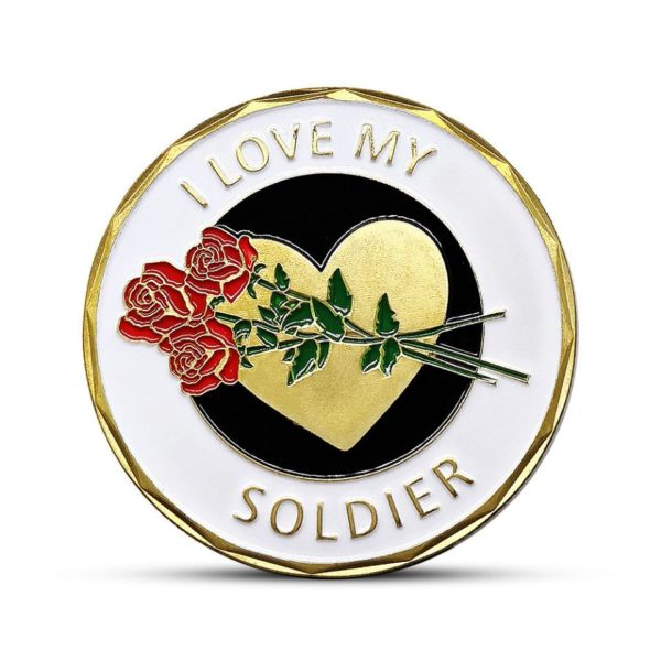 I love my soldier coins