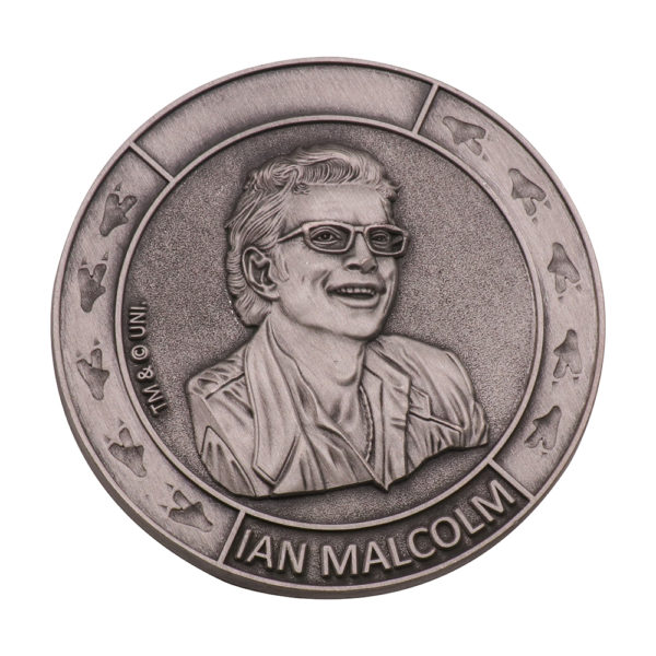 India 3D mark commemorative coin