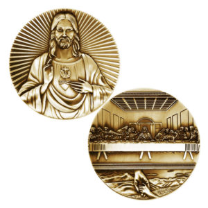 Last dinner commemorative coin