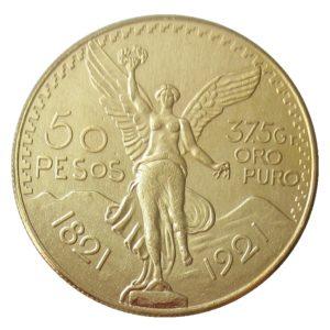 Mexico 50peso Centennial coins
