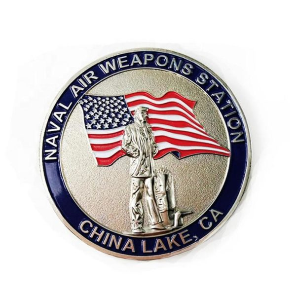 Naval weapon commemorative coin