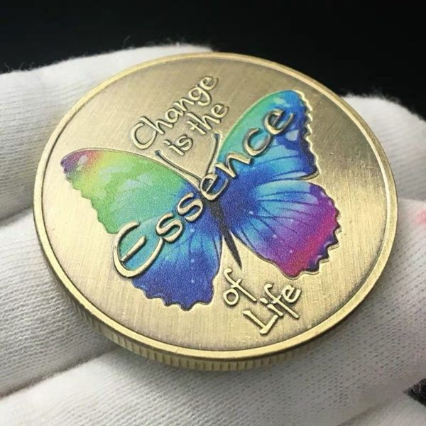Russian butterfly transmutation coin