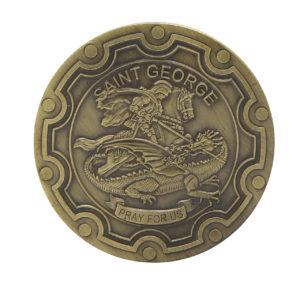 Saint George challenge coins