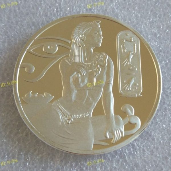 Silver plated Cleopatra coins
