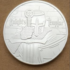 Temple Crusader coins