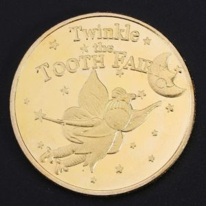 Tooth fairy gold coin