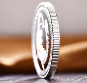 Custom Silver Coins Edge