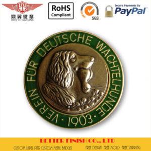 3D Lion Soft Enamel Coins