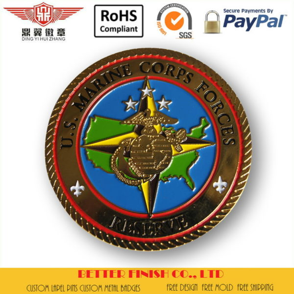 Gold Navy Coins No Minimum