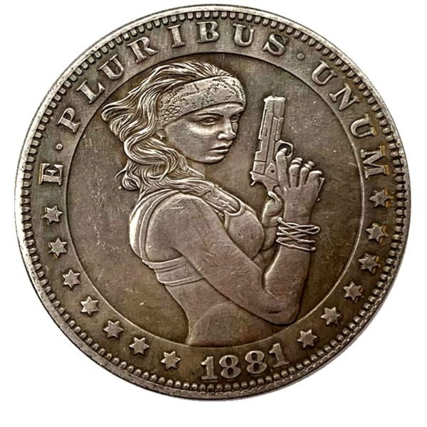 American girl sniper coin