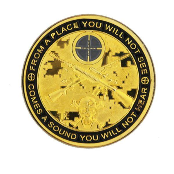 American sniper commemorative coin