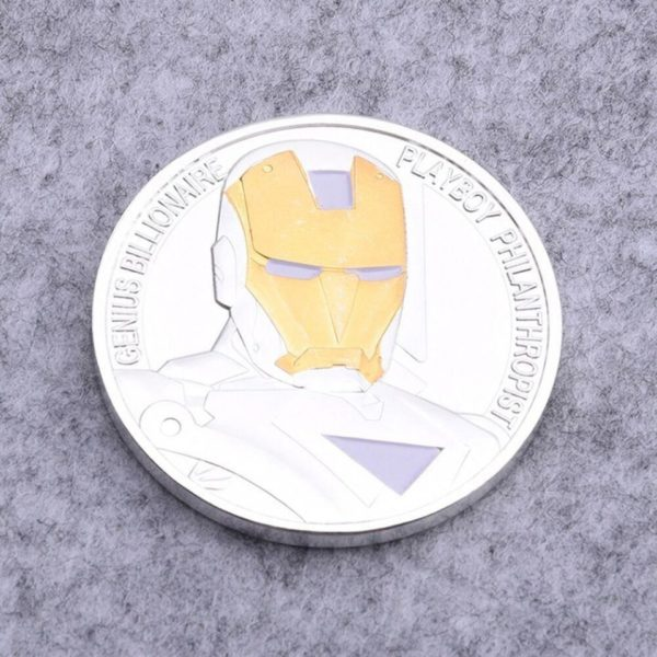 Avenger alliance iron man two color coin