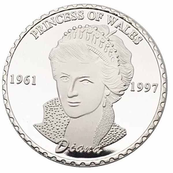 British Princess Diana coins