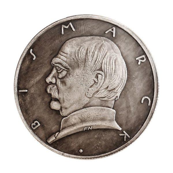 German diplomat Bismarck coins
