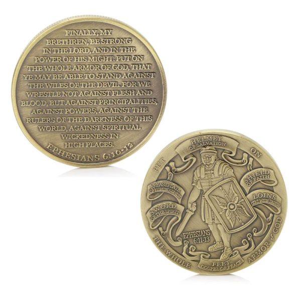 God armour high relief coins