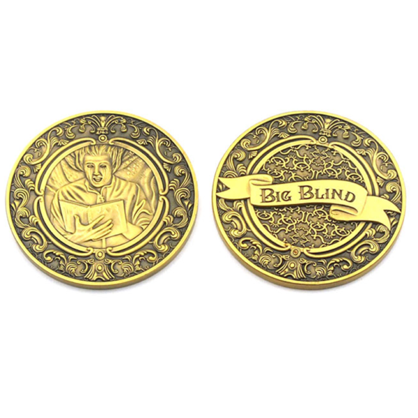 High quality embossed coins