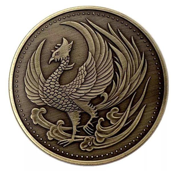 Japanese Phoenix bronze coins