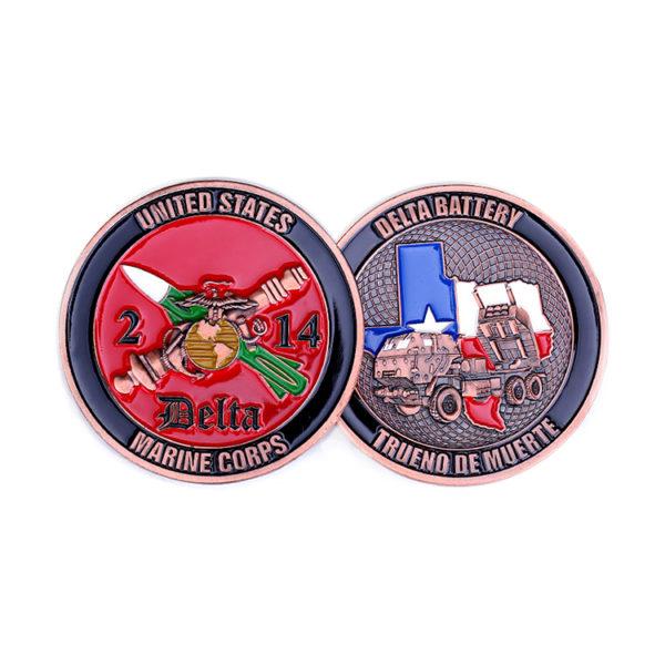 Marine Corps commemorative coin