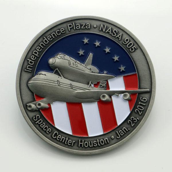 Metal battle Challenge Coin