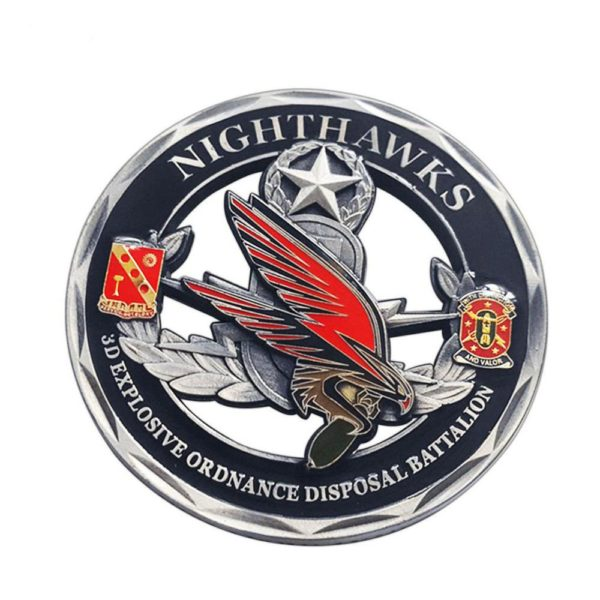 Military explosion-proof commemorative coin