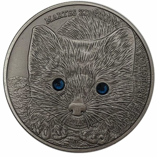 Mongolian inlaid diamond cat coins