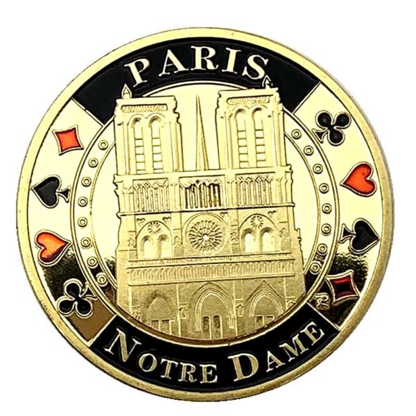 Notre Dame Cathedral coins