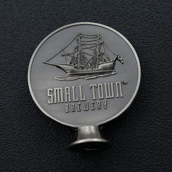Somali pirate vertical coin