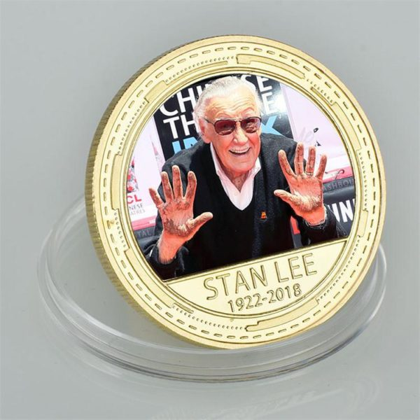 Stan Lee Metal Coins