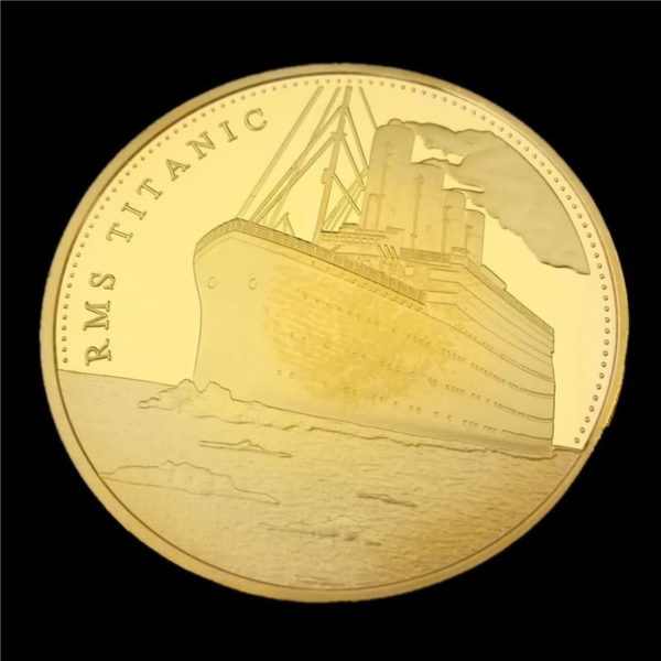 Titanic commemorative coins