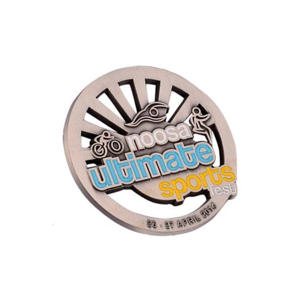 Triathlon final coins