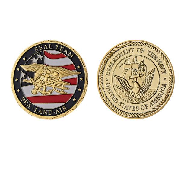 US Navy Seals challenge coins