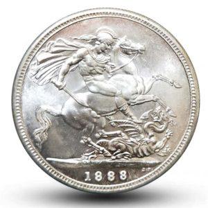 Valiant Knight horse sword coin