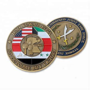 Various military victory coins