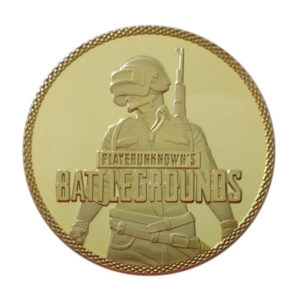 Warrior's battlefield coins